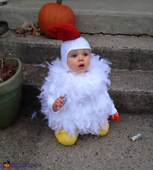 Rooster Baby Costume