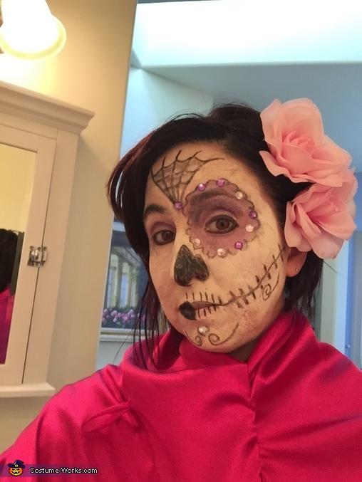 Rosa Dia de los Muertos Costume