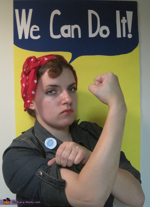 Rosie the Riveter - Homemade costumes for women