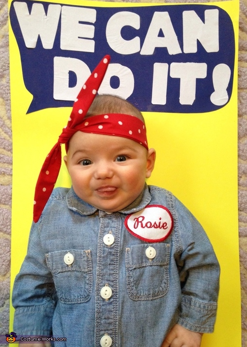 Rosie 2, Rosie the Riveter Costume