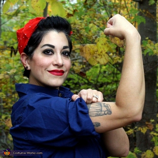 We Can Do It Rosie the Riveter Costume