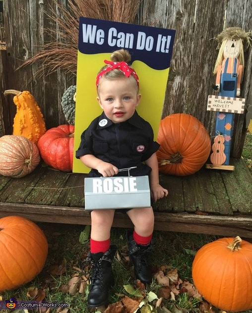 Rosie the Riveter Baby Costume