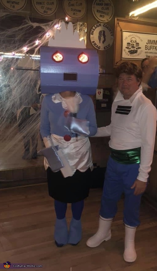 Rosie the Robot and George Jetson Costume