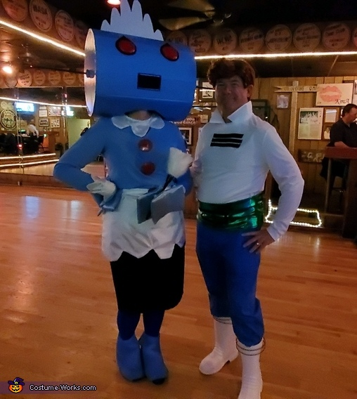 Rosie the Robot and George Jetson Homemade Costume