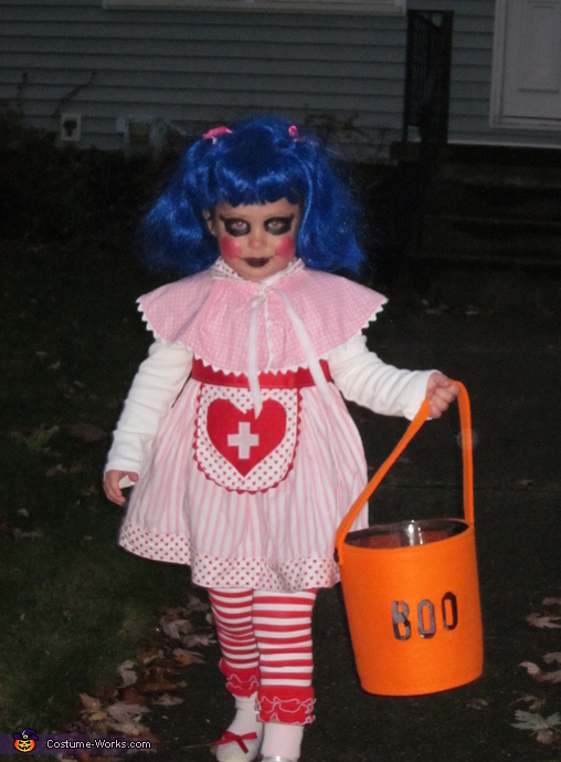 Rosy Bumps and Bruises Costume