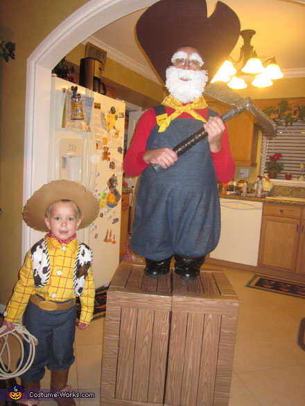 Round-up Gang Toy Story Costumes