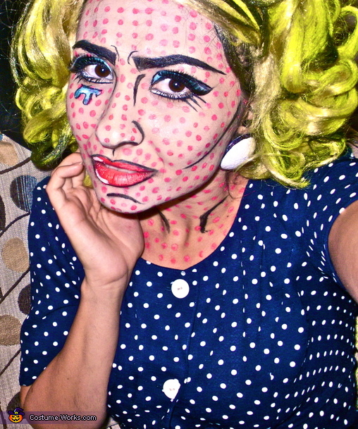 images?q=tbn:ANd9GcQh_l3eQ5xwiPy07kGEXjmjgmBKBRB7H2mRxCGhv1tFWg5c_mWT Awesome Comic Book Pop Art Makeup @koolgadgetz.com.info
