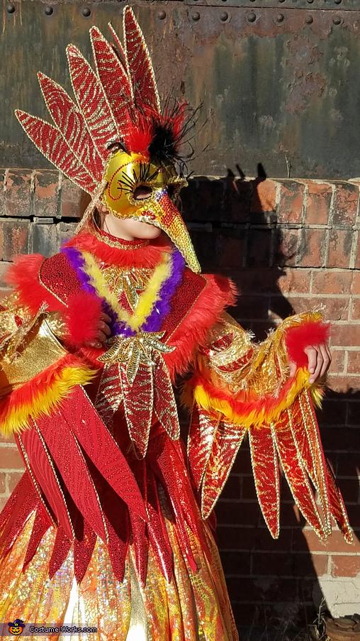 Royal Bird Homemade Costume