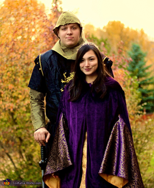 Royal Couple Costume
