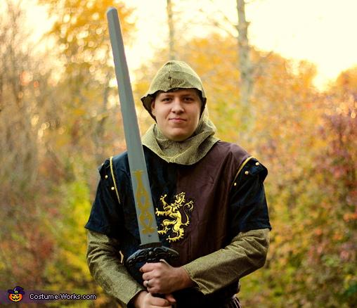 King/Knight Jason, Royal Couple Costume