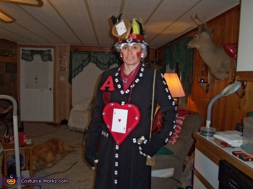Ace of Hearts, Royal Flush Group Costume