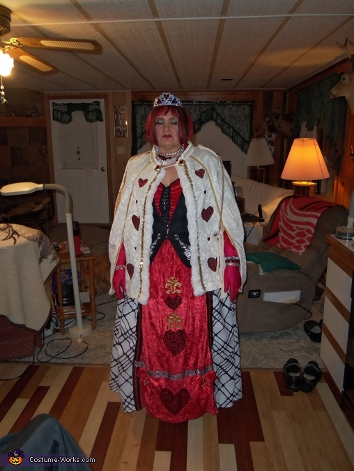 Queen of Hearts, Royal Flush Group Costume