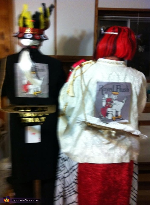 Example of seats, Royal Flush Group Costume
