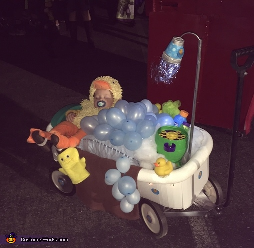 Rubber Duckie in the Bathtub Costume
