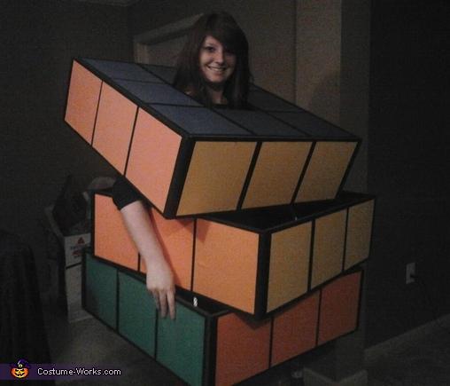 :),  Rubik's Cube Costume