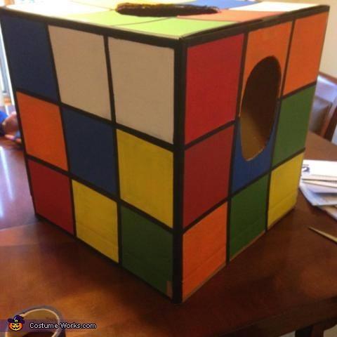 Rubik's Cube Costume DIY