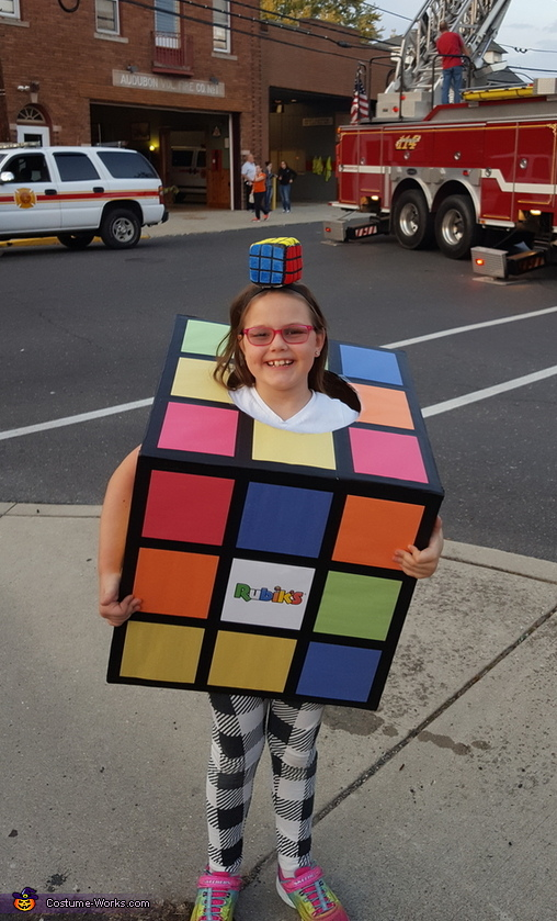 Rubik's Cube Costume