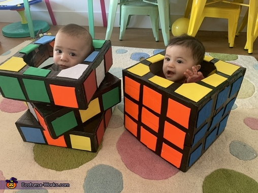 Rubiks Cubes Costume