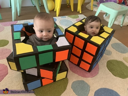 Babies like Rubik's cubes, Rubiks Cubes Costume