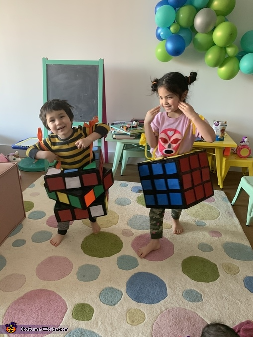 Easy to dance in!, Rubiks Cubes Costume