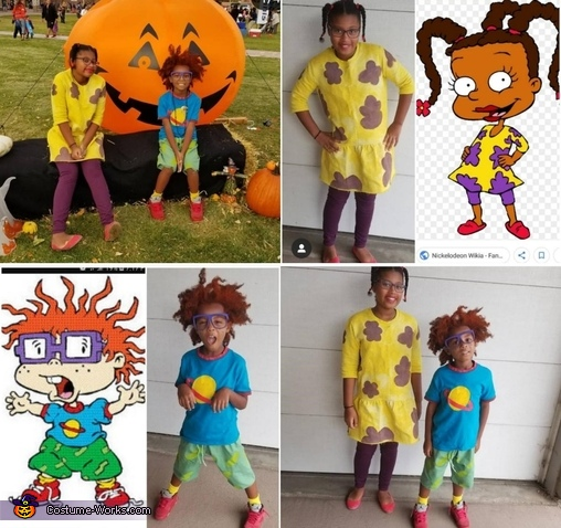Rugrats Homemade Costume