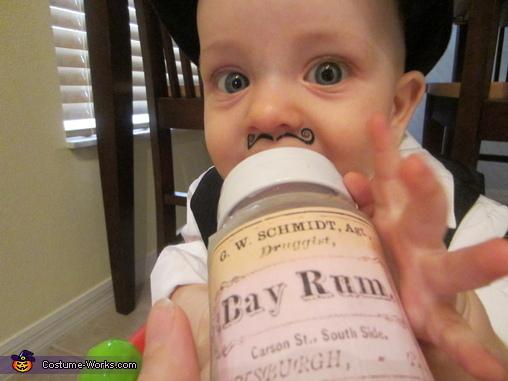 Rum Runner Baby Costume