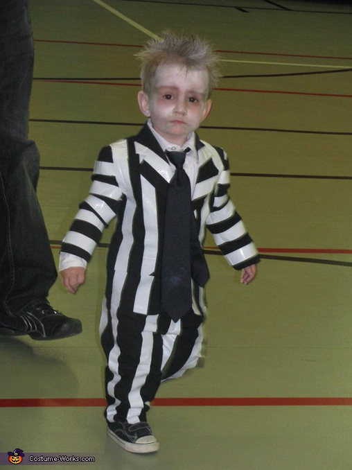 Beetlejuice - Homemade costumes for boys