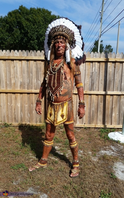 Running wild, Indian Chief Costume