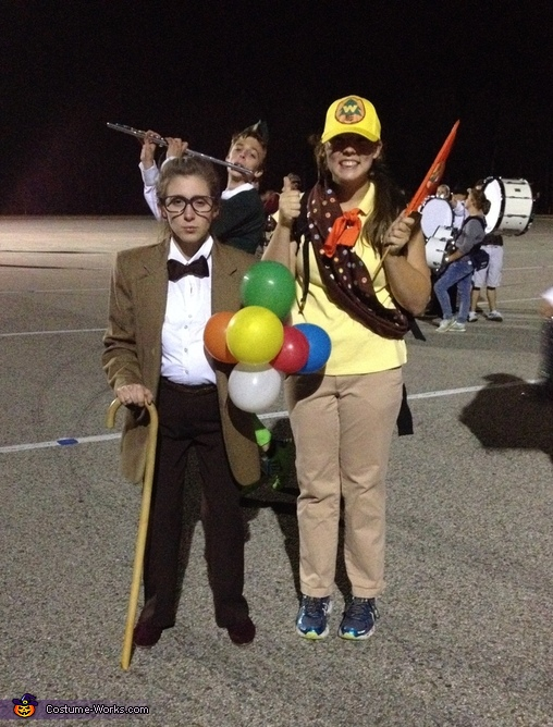 Russell and Carl Fredrickson from Disney's Up Costume