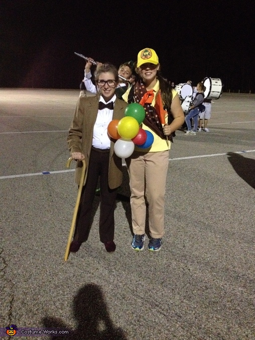 Russell and Carl Fredrickson from Disney's Up Homemade Costume