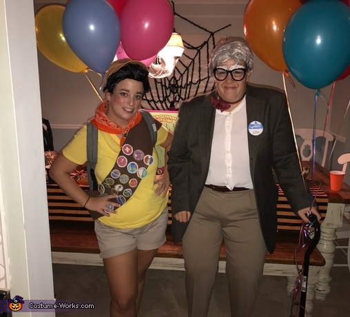 Russell and Carl from Disney's Up Costume