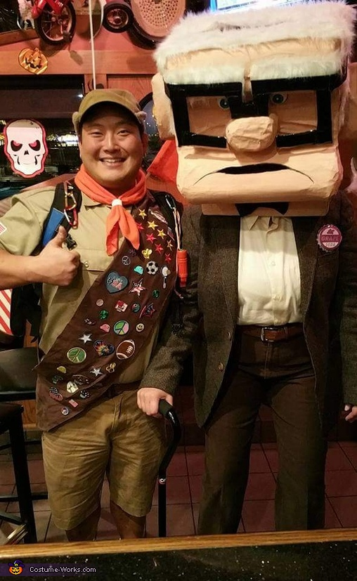 Russel and Carl, Russell and Carl from Up Costume