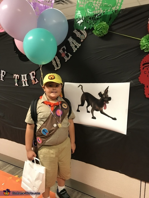 Russell from UP Homemade Costume