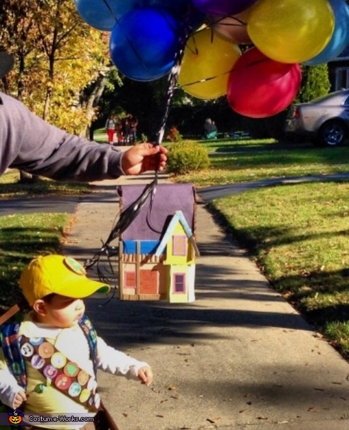 Russell from Up Baby Costume