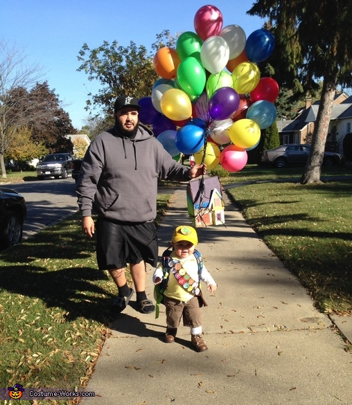Daddy helping CJ and being a good wingman. , Russell from Up Baby Costume
