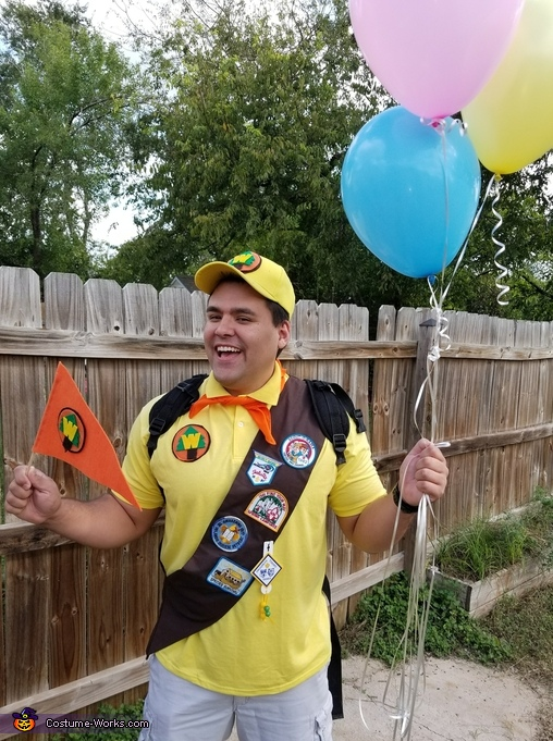 Russell from Up Disney Pixar Movie Costume