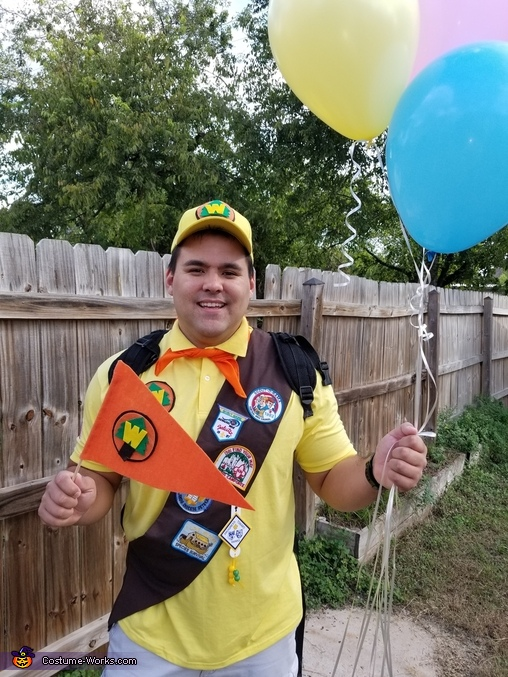 Russel from Up, Russell from Up Disney Pixar Movie Costume