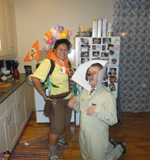 Russell & Dug Costume