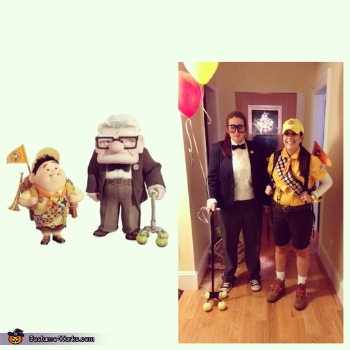 Comparison, Russell & Mr. Fredrickson from UP Costume