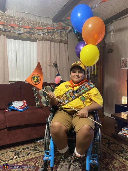 Russell the movie Up Costume