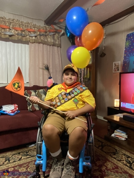 Russell the movie Up Homemade Costume