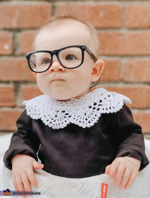 Ruth Baby Ginsburg Costume