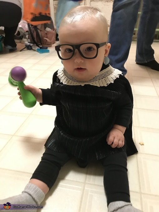 Order in the court, Ruth Baby Ginsburg Costume