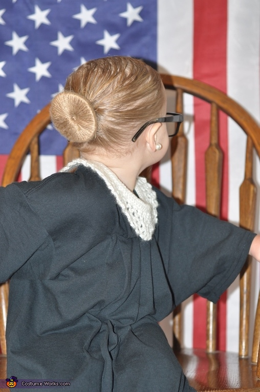 Ruth Bader Ginsburg Homemade Costume