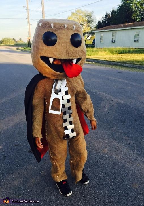 Sackboy Vampire Costume
