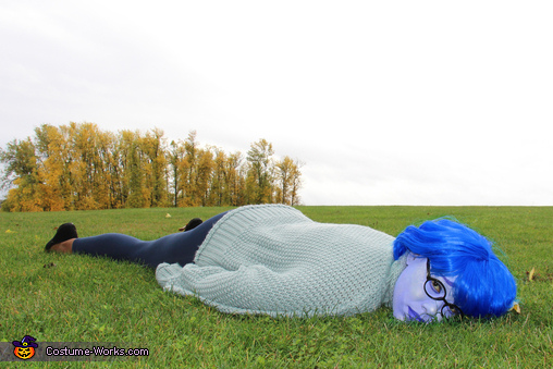 Sadness from Inside Out Homemade Costume