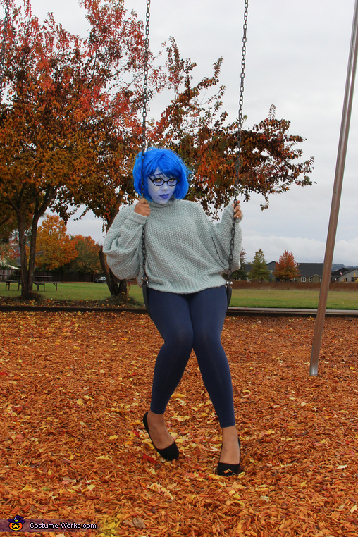 Sadness from Inside Out Costume
