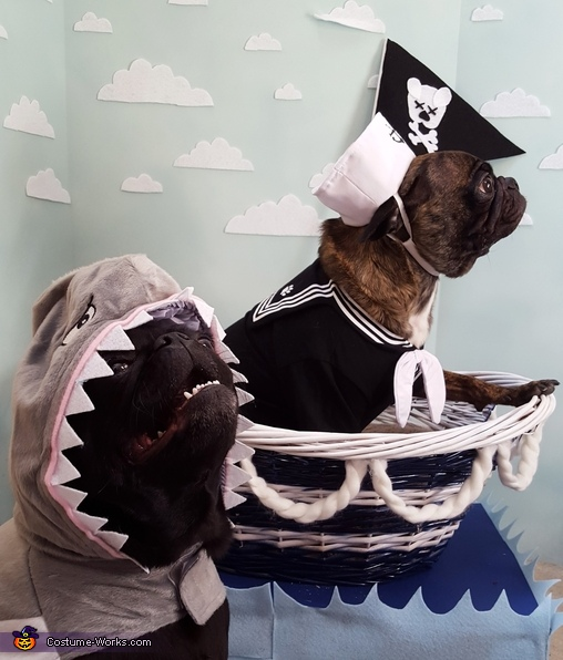 Mwahaha!, Sailor and Shark Costume