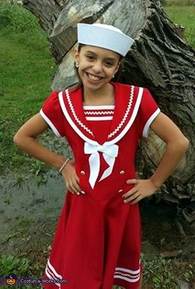 Sailor Girl Costume