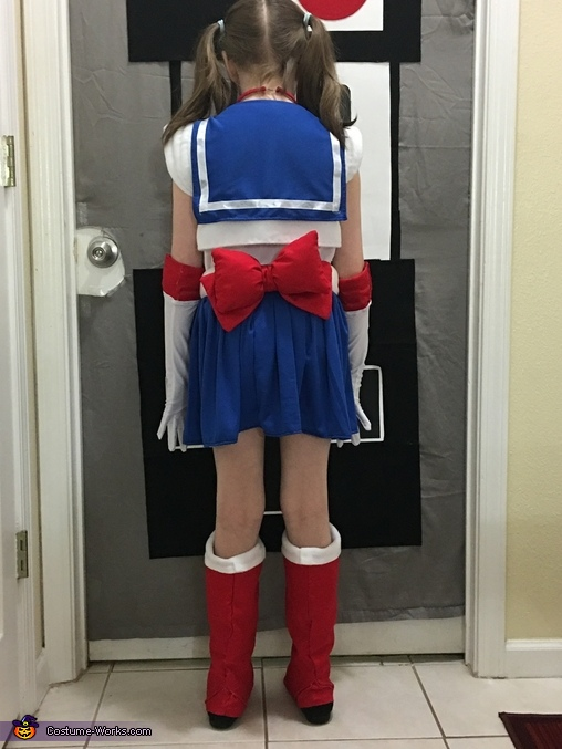 Sailor Moon Homemade Costume